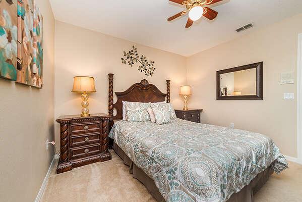 Lovely queen bedroom