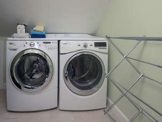 Full size washer and dryer for your convenience on second floor