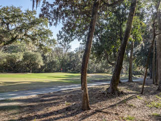 Watch the golfers on the 12th fairway of Crooked Oaks
