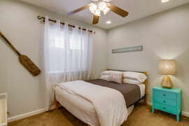 Third bedroom with twin bed.