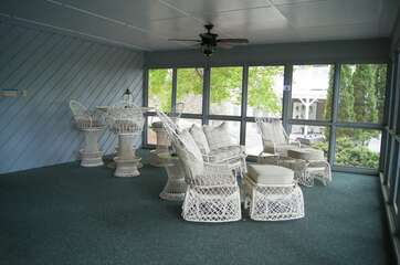 Screened in porch, perfect for those trying to stay out of the sun. New owners, new decor will update pictures as updates are complete.