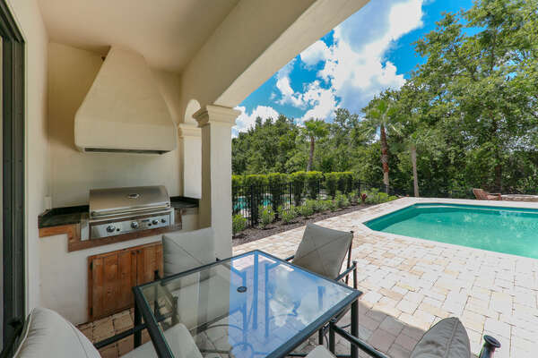 BBQ is not included, but available for rental
