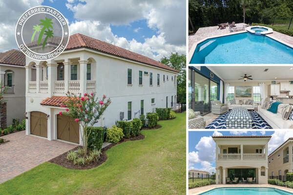 Welcome to Fairway Joy, a 5 bedroom pool home with extended pool deck   PHOTOS TAKEN: June 2018