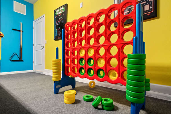 Extra Large Connect Four game