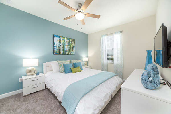 Unwind in a well decorated and comfortable bedroom of your own