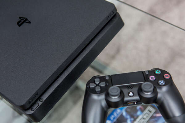PlayStation 4 for your enjoyment in the loft