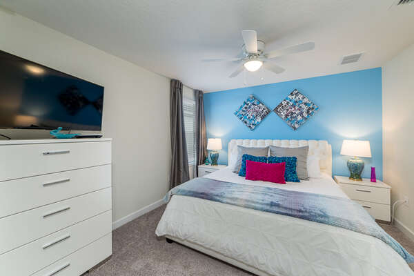 Enjoy your stay in this comfortable room