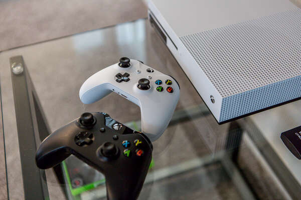 Xbox One for your enjoyment in the loft