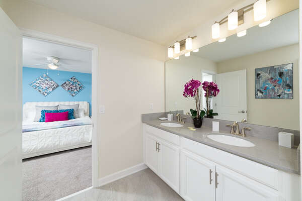 Another Jack-and-Jill bathroom