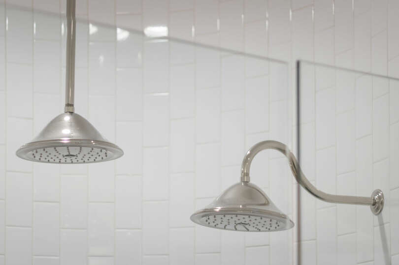 Dual shower heads to take your showers to the next level.