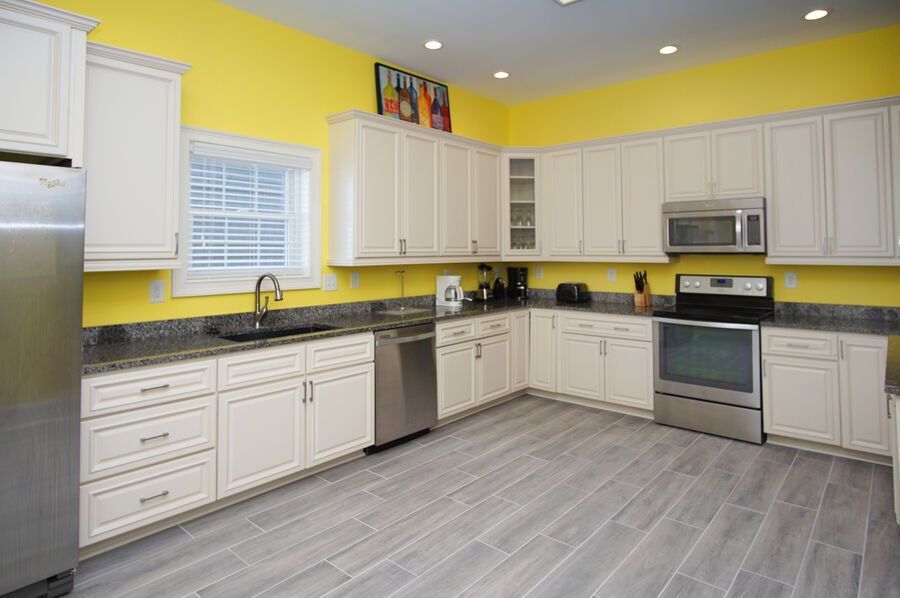 A Perfect Escape - vacation home on the boulevard in Cherry Grove, North Myrtle Beach | kitchen 2 | Thomas Beach Vacations