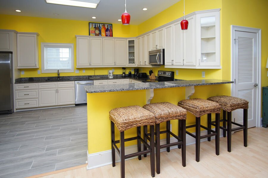 A Perfect Escape - vacation home on the boulevard in Cherry Grove, North Myrtle Beach | kitchen 1 | Thomas Beach Vacations