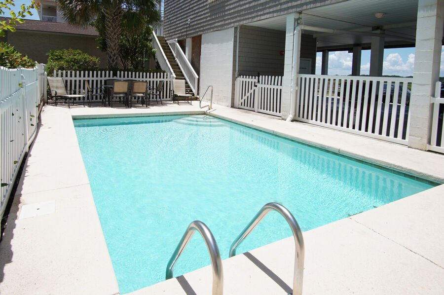 Admirals Quarters A vacation home in Cherry Grove, North Myrtle Beach | pool 1 | Thomas Beach Vacations