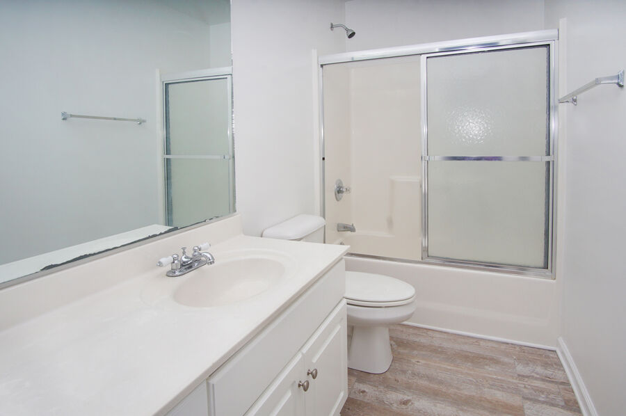 Admirals Quarters A vacation home in Cherry Grove, North Myrtle Beach | bathroom 5 | Thomas Beach Vacations