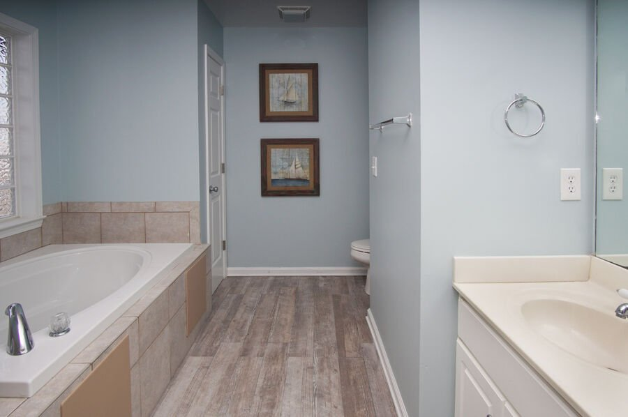 Admirals Quarters A vacation home in Cherry Grove, North Myrtle Beach | bathroom 3 | Thomas Beach Vacations