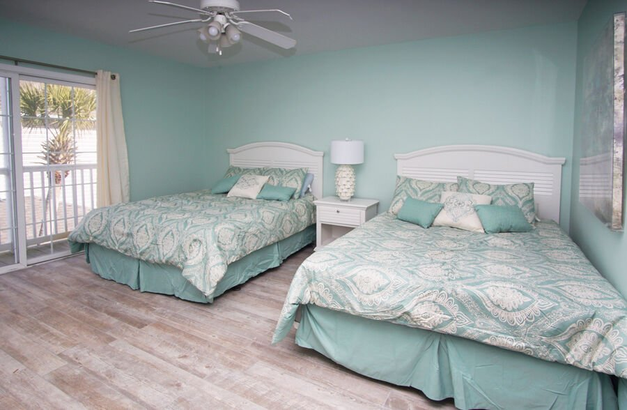Admirals Quarters A vacation home in Cherry Grove, North Myrtle Beach | bedroom 6 | Thomas Beach Vacations