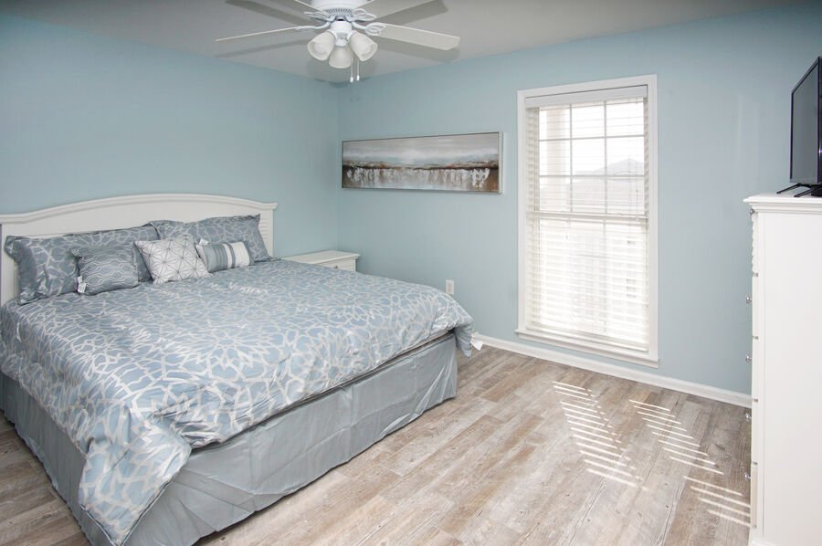 Admirals Quarters A vacation home in Cherry Grove, North Myrtle Beach | bedroom 4 | Thomas Beach Vacations