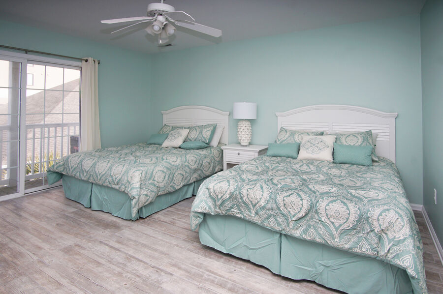 Admirals Quarters A vacation home in Cherry Grove, North Myrtle Beach | bedroom 3 | Thomas Beach Vacations