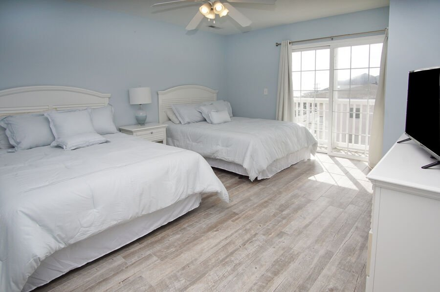 Admirals Quarters A vacation home in Cherry Grove, North Myrtle Beach | bedroom 2 | Thomas Beach Vacations