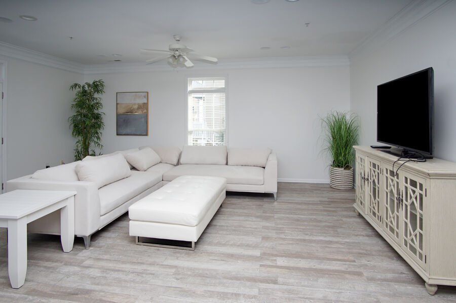 Admirals Quarters A vacation home in Cherry Grove, North Myrtle Beach | living room 1 | Thomas Beach Vacations