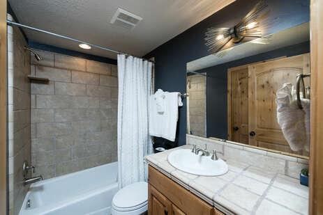 Downstairs Ensuite Bathroom