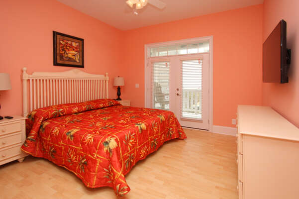 A Perfect Escape - vacation home on the boulevard in Cherry Grove, North Myrtle Beach | bedroom 5 | Thomas Beach Vacations
