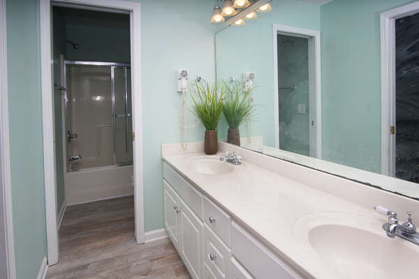 Admirals Quarters A vacation home in Cherry Grove, North Myrtle Beach | bathroom 4 | Thomas Beach Vacations