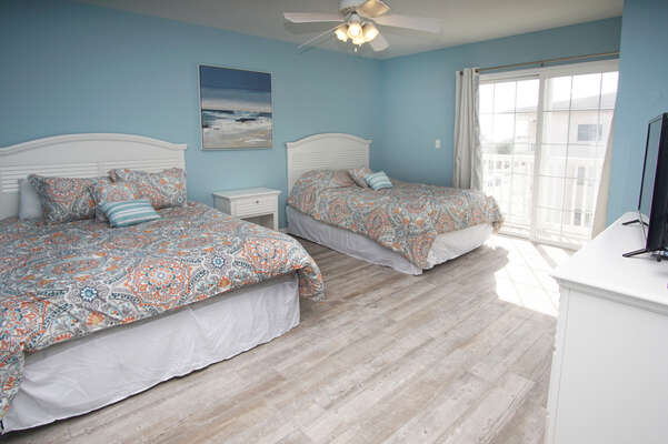 Admirals Quarters A vacation home in Cherry Grove, North Myrtle Beach | bedroom 8 | Thomas Beach Vacations
