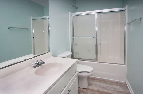 Admirals Quarters A vacation home in Cherry Grove, North Myrtle Beach | bathroom 2 | Thomas Beach Vacations