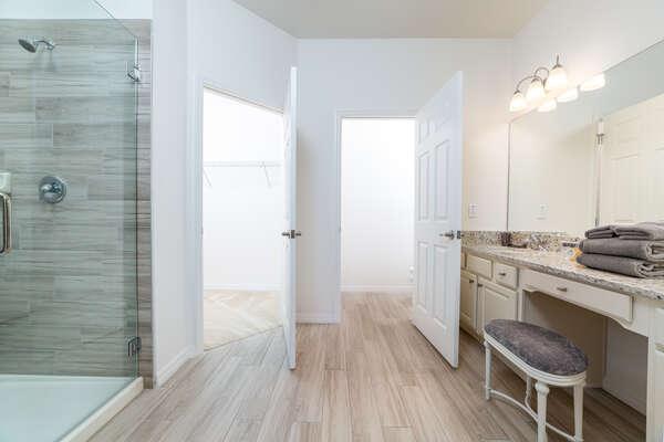 Beautiful ensuite bathroom