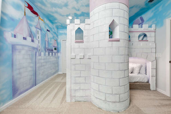 A room for little princesses