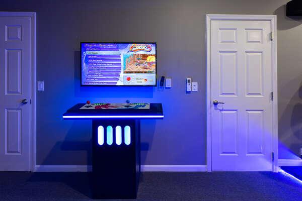 A fun gaming area