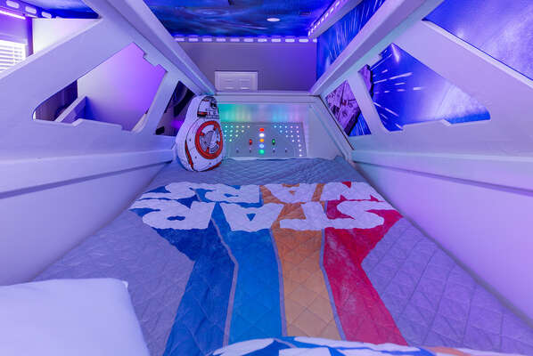 Kids will feel like they're sleeping in a spaceship