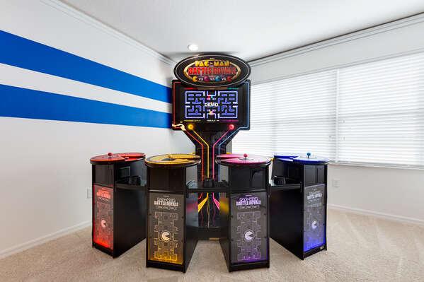 4 player Pac Man Arcade