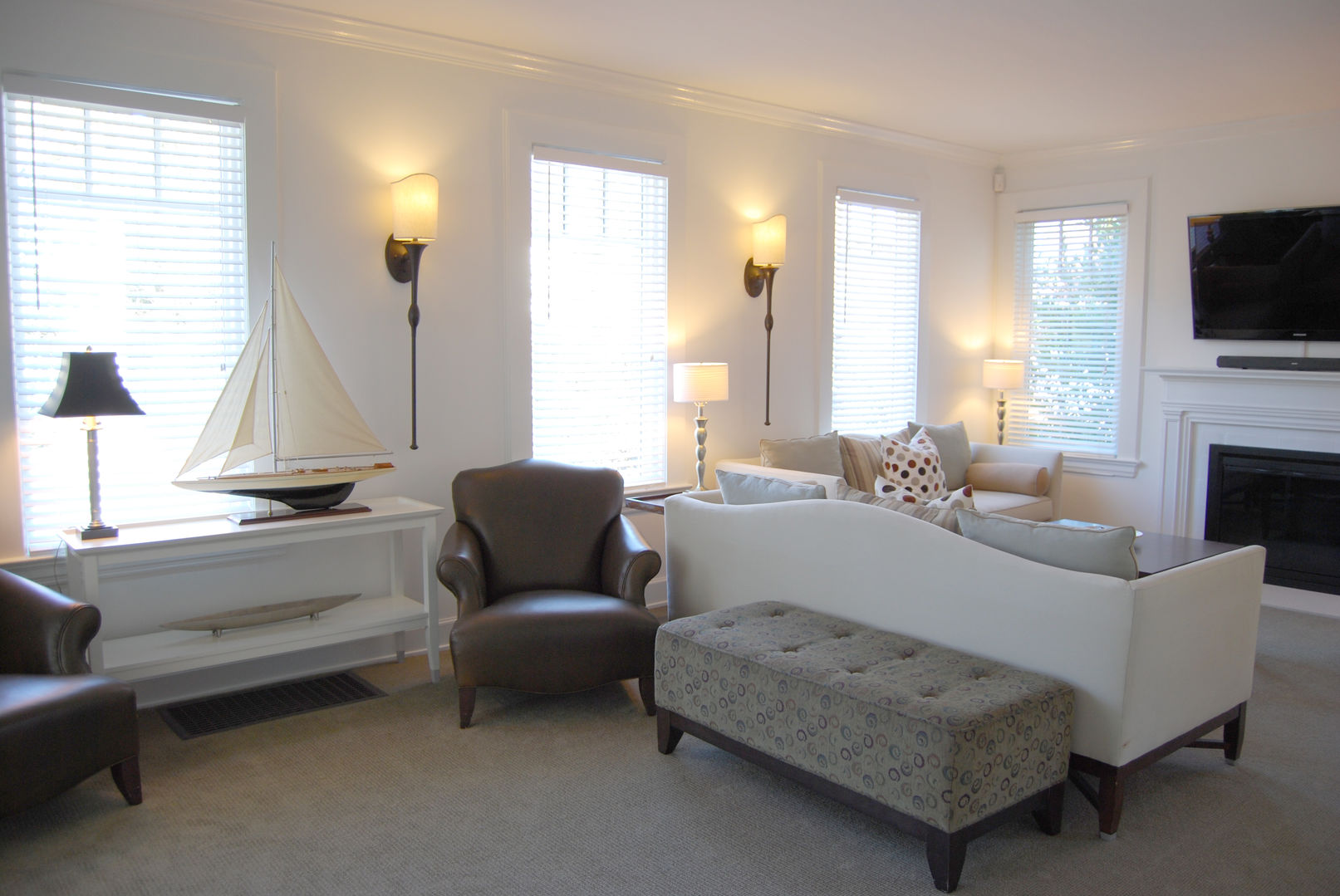 Standish House - Living Room - Sitting Area with Two Sofas