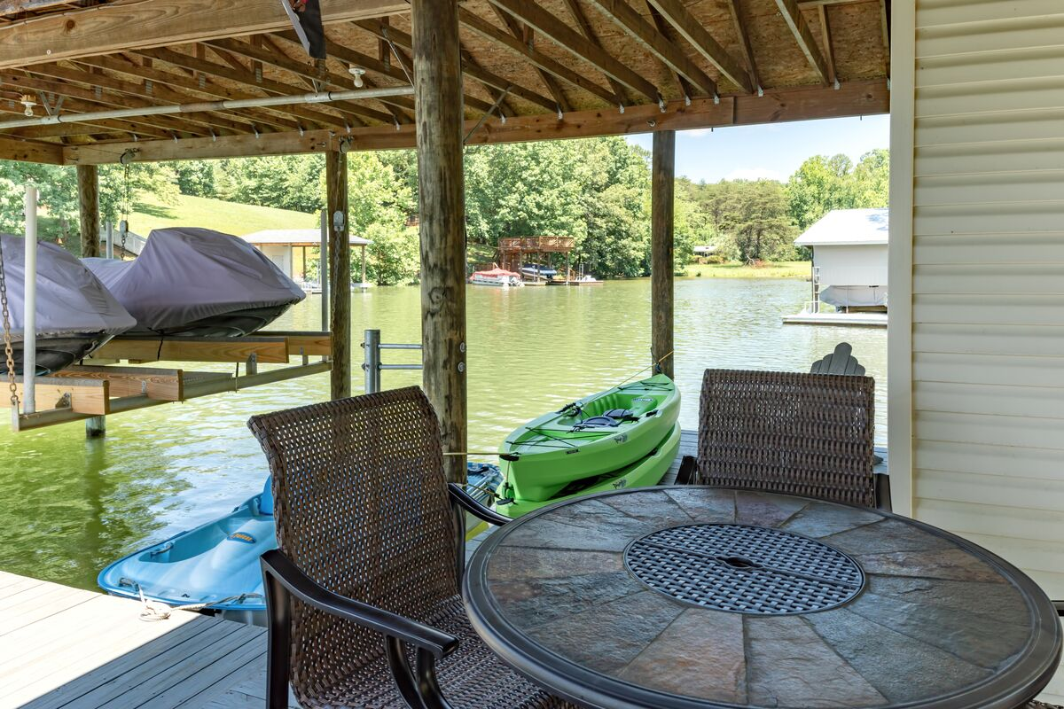 Kayaks Are Included for Guest Use