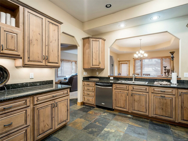 Spacious Kitchen with Dishwasher.