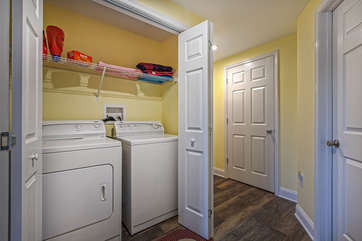 Laundry Room Available for Guest Use in our Smith Mountain Vacation Rental