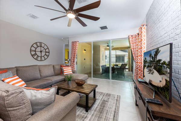 Comfortable and stylish living room