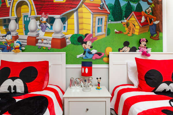 Plenty of cute details will make kids feel right at home