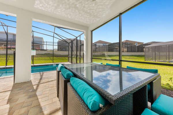 Comfortable patio furniture