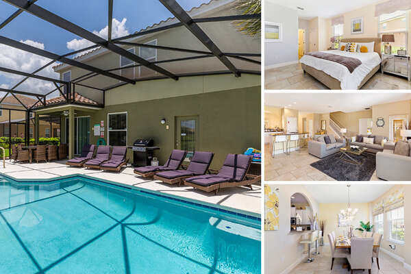 Welcome to Solterra Sunrise, a 6 bedroom vacation villa with private pool and games room |  PHOTOS TAKEN: June 2017