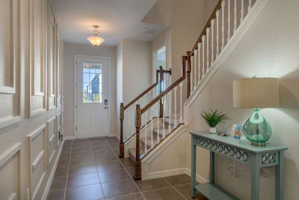 Head upstairs for more luxury and comfort