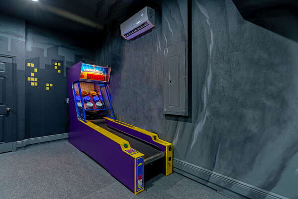 Have a skee ball tournament