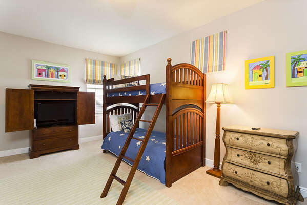 Kids will love having their own bedroom
