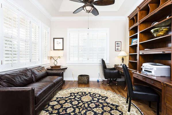 Office study area
