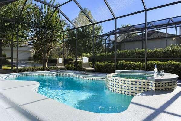 Soak up the famous Florida sunshine poolside