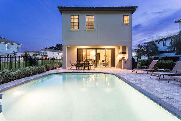 Enjoy many amenities at your luxury vacation villa