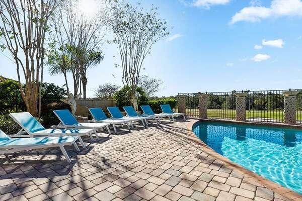 Soak up the famous Florida sunshine