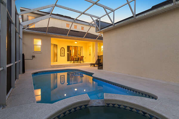 The whole family will love spending time by the pool